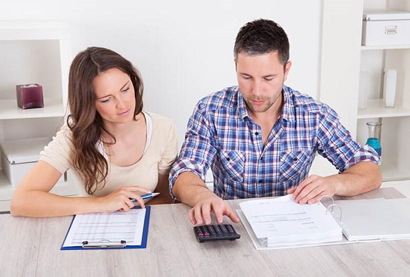 Prepay or refinance mortgage