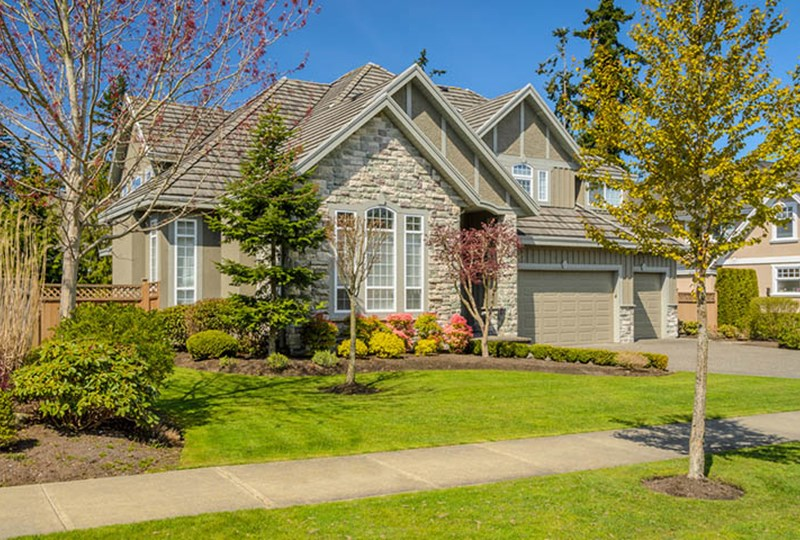 Add curb appeal to home when selling