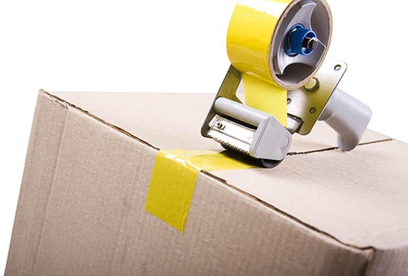 packing tape box