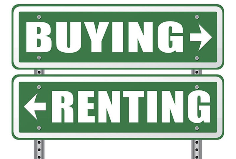 Should you buy or rent