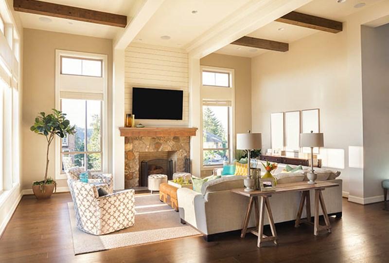 Make home look bigger selling