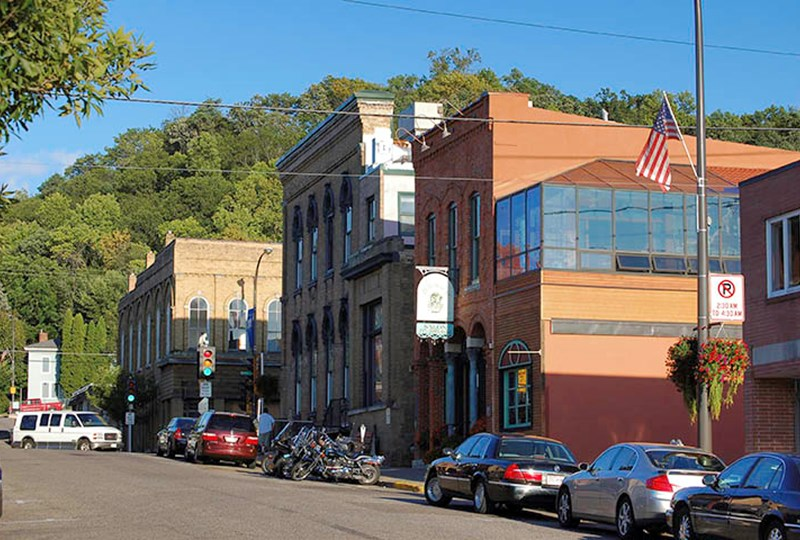 Downtown Hudson Wisconsin expansion