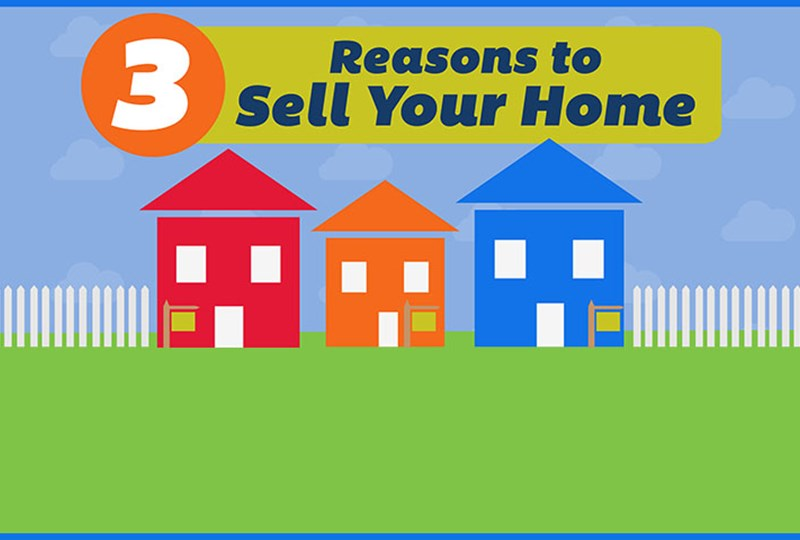Three reasons to sell this spring
