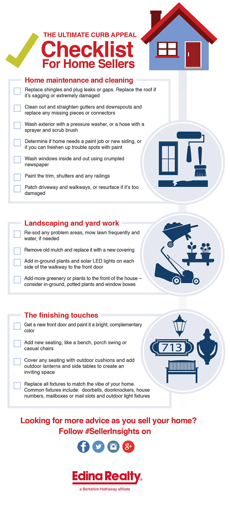 The Ultimate Curb Appeal Checklist For Home Sellers
