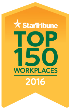 Star Tribune 2016 Top 150 Workplace