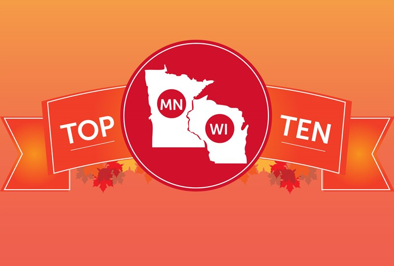 what to do this fall in Minnesota and Wisconsin