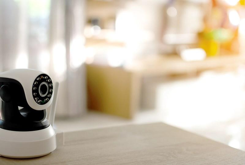 Hidden camera in home