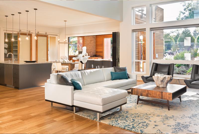 high-end modern living room