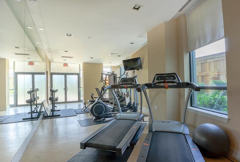 condo exercise room