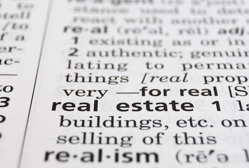 Your A-Z home seller's dictionary