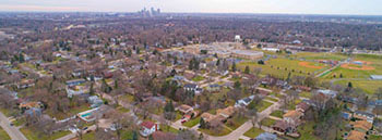 Community View of the Audubon Park neighborhood of Minneapolis, Minnesota