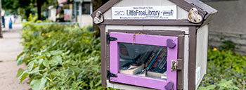 Little Free Library in Powderhorn