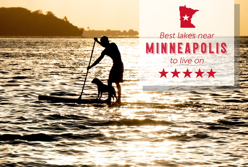 Best lakes near Minneapolis to live on