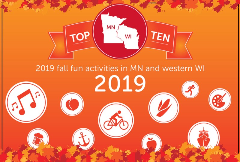 Top fall fun activities in Minnesota and western Wisconsin