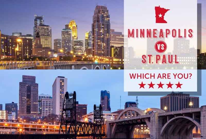 Minneapolis vs. Saint Paul