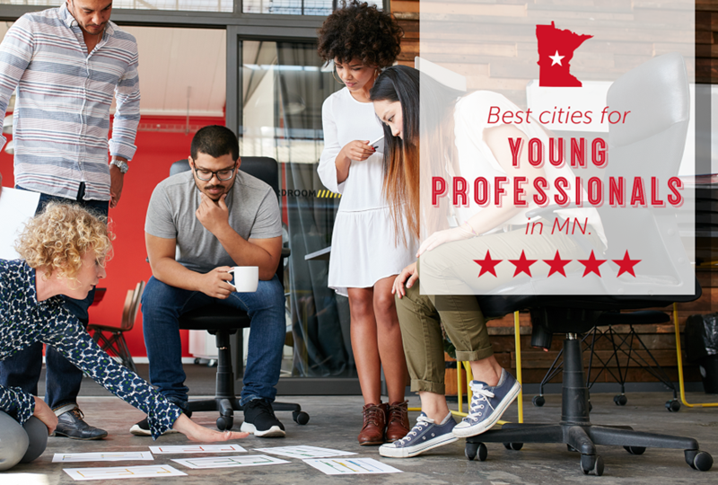 Best Minnesota cities for young professionals